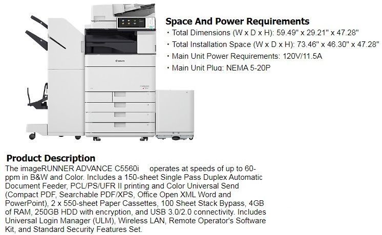 Refurbished Copier Accessories Special