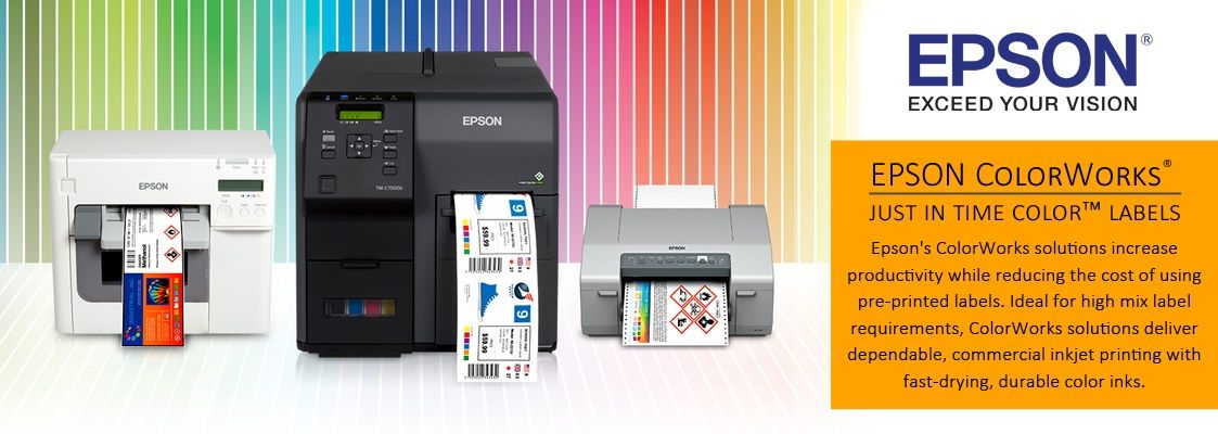 Epson Label Printer Toner Label Printer Supplies