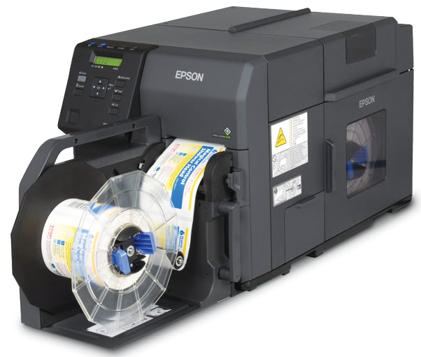 EPSON COLORWORKS TM-C7500GE (C31CD84A9991) GLOSS/RIP COLOR LABEL PRINTER
