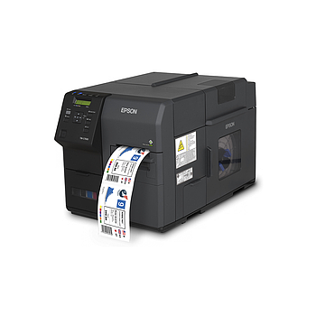 "Epson ColorWorks C7500GE GRAPHICS (TM-C7500GE C31CD84A9991 ) 4"" COLOR LABEL PRINTER"